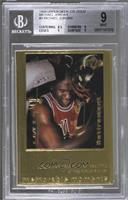 Michael Jordan /9923 [BGS9MINT]