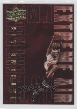 1999 Upper Deck Michael Jordan Athlete of the Century - Extreme Air #EA15 - Michael Jordan