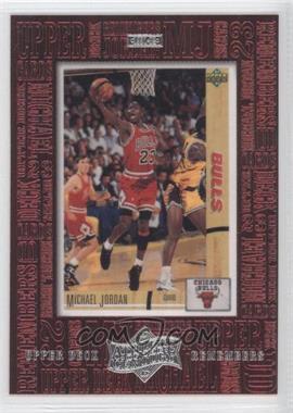 1999 Upper Deck Michael Jordan Athlete of the Century - Upper Deck Remembers #UD1 - Michael Jordan