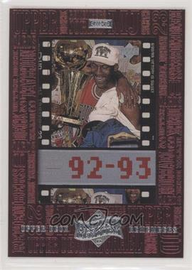 1999 Upper Deck Michael Jordan Athlete of the Century - Upper Deck Remembers #UD8 - Michael Jordan