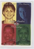 Sandy Brondello, Eva Nemcova, Cynthia Cooper, Bridget Pettis