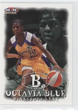 1999 WNBA Hoops Skybox - [Base] #18 - Octavia Blue