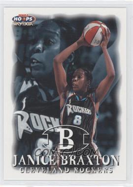 1999 WNBA Hoops Skybox - [Base] #73 - Janice Braxton
