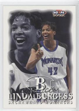 1999 WNBA Hoops Skybox - [Base] #84 - Linda Burgess