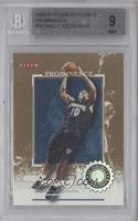 Wally Szczerbiak /75 [BGS 9 MINT]