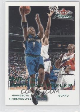 2000-01 Fleer Focus - [Base] - Draft Position #66 - Anthony Peeler /100
