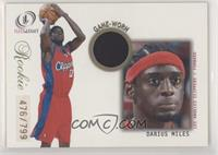 Darius Miles [EX to NM] #/799
