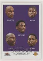 Team Checklist - Los Angeles Lakers