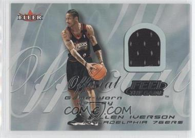quality design 11b7e 2406f 2000-01 Fleer Tradition - Feel the Game Game Worn #ALIV.1 ...