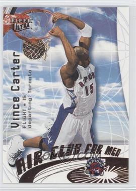 2000-01 Fleer Ultra - Air Club For Men #3 AC - Vince Carter