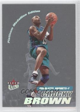 2000-01 Fleer Ultra - [Base] - Platinum Medallion #167P - Chucky Brown /50
