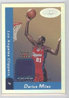 2000-01 NBA Hoops Hot Prospects - [Base] #126 - Future Swatch - Darius Miles /1000