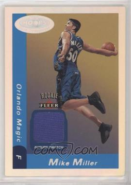 2000-01 NBA Hoops Hot Prospects - [Base] #130 - Future Swatch - Mike Miller /1000