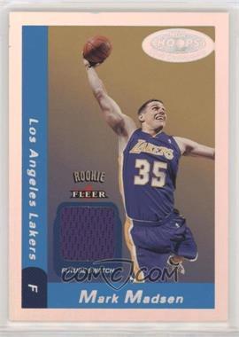 2000-01 NBA Hoops Hot Prospects - [Base] #135 - Future Swatch - Mark Madsen /1000