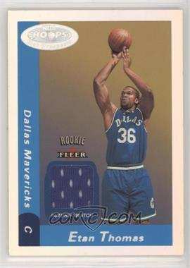 2000-01 NBA Hoops Hot Prospects - [Base] #137 - Future Swatch - Etan Thomas /1000
