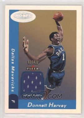 2000-01 NBA Hoops Hot Prospects - [Base] #143 - Future Swatch - Donnell Harvey /1000