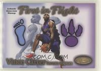 Vince Carter (Warmups) #465/1,000