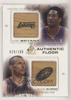 Kobe Bryant, Jason Kidd #/100