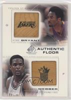 Kobe Bryant, Chris Webber