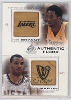 Kobe Bryant, Kenyon Martin