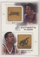 Kobe Bryant, Steve Francis
