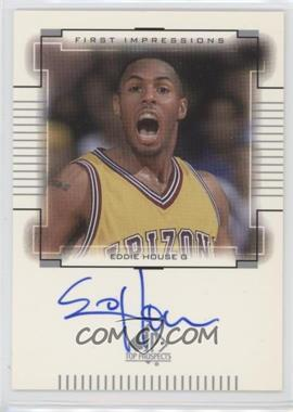 2000-01 SP Top Prospects - First Impressions - [Autographed] #EH - Eddie House