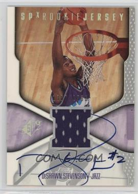 2000-01 SPx - [Base] #116 - DeShawn Stevenson /2500