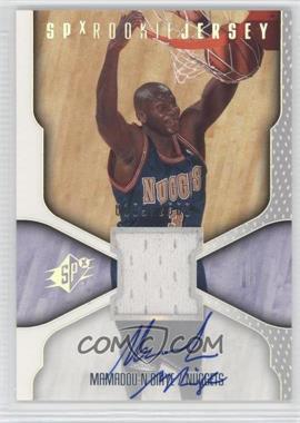 2000-01 SPx - [Base] #127 - Mamadou N'Diaye /2500
