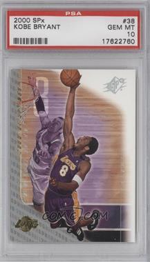 2000-01 SPx - [Base] #38 - Kobe Bryant [PSA10]