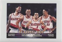 Blazing Hot (Rasheed Wallace, Steve Smith, Damon Stoudamire, Scottie Pippen)