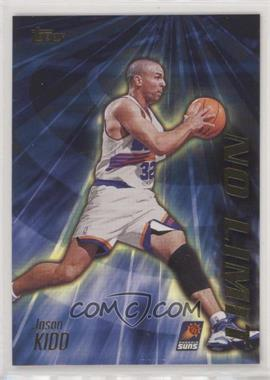 2000-01 Topps - No Limit #NL11 - Jason Kidd