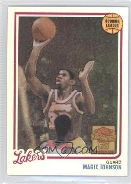 2000-01 Topps Chrome - Magic Johnson Commemorative Series Reprints - Refractor #1 - Magic Johnson