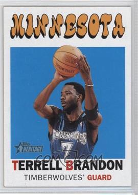 2000-01 Topps Heritage - [Base] #103 - Terrell Brandon