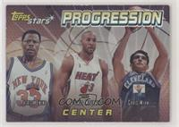 Patrick Ewing, Alonzo Mourning, Chris Mihm