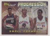 Scottie Pippen, Vince Carter, Darius Miles