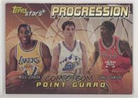 Jamal Crawford, Magic Johnson, John Stockton