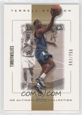 2000-01 UD Ultimate Collection - [Base] #34 - Terrell Brandon /750