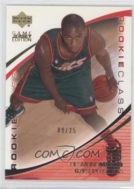 2000-01 Upper Deck - [Base] - Gold UD Exclusives #424 - Desmond Mason /25