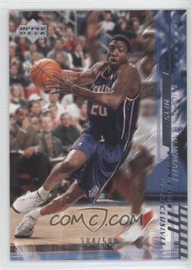 2000-01 Upper Deck - [Base] - Silver UD Exclusives #109 - Johnny Newman /500