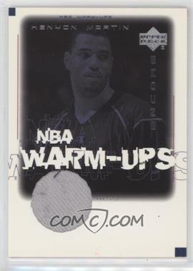 2000-01 Upper Deck Encore - NBA Warm-Ups #KM-W - Kenyon Martin