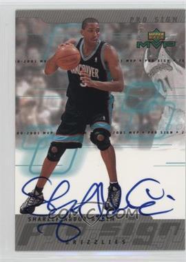2000-01 Upper Deck MVP - Pro Sign #SA - Shareef Abdur-Rahim