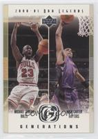 Michael Jordan, Vince Carter