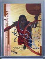 Darius Miles (2000-01 Upper Deck) #/92