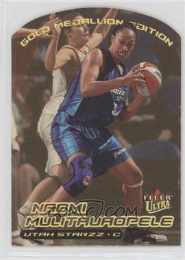 2000 Fleer Ultra WNBA - [Base] - Gold Medallion Edition #116G - Naomi Mulitauaopele