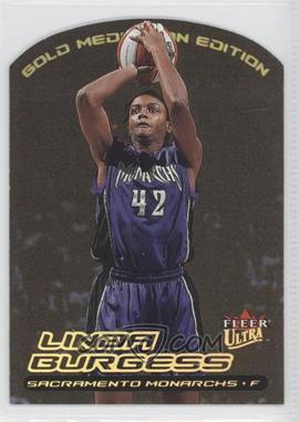 2000 Fleer Ultra WNBA - [Base] - Gold Medallion Edition #90G - Linda Burgess