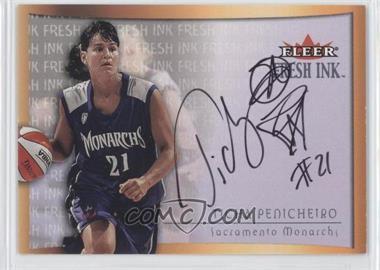 2000 Fleer Ultra WNBA - Fresh Ink - [Autographed] #TIPE - Ticha Penicheiro