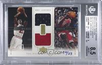 Michael Jordan (Combo Game Jersey) [BGS 8.5 NM‑MT+] #/23
