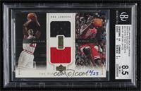 Michael Jordan (Combo Game Jersey) [BGS8.5NM‑MT+] #/23