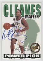 Mateen Cleaves /250