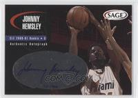 Johnny Hemsley #/999